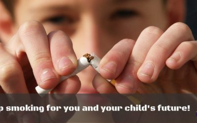 Smoking cigarette and the deadly effects of 2nd hand smoke on babies and children.